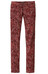 Prana W's Trinity Cord Pant Rhubarb Paisley